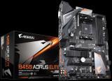 Placa de baza GIGABYTE Socket AM4, B450 AORUS ELITE, AMD B450, 4x DDR4 3200(O.C.)/2933/2667/2400/2133 MHz memory modules, 1x DVI-D/ HDMI, 1x bulk