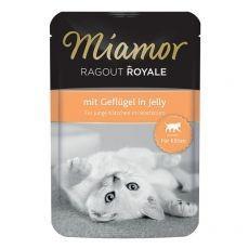 MIAMOR Ragout Royal Kitten pui în jeleu 100 g