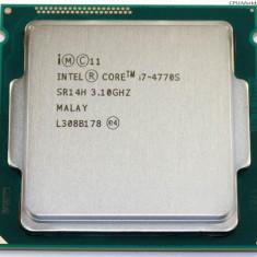 Procesor Intel Core i7-4770S Quad Core 3.1GHz/Turbo 3.9Ghz LGA1150  cooler