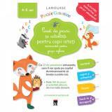 Caiet de jocuri si activitati pentru copii isteti (grupa mijlocie) - Larousse