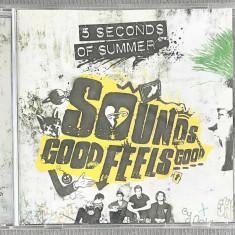 5 Seconds Of Summer - Sounds Good Feels Good CD, capitol records
