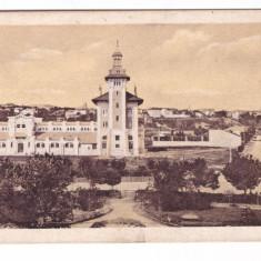 IASI-VAMA VECHE-VEDERE SPRE ORAS-CARTE POSTALA UPU CIRCULATA LA 1914