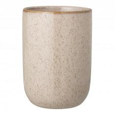 Pahar pentru periuta de dinti Nature Stoneware, Ø7xH10 cm