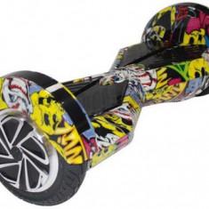 Scooter electric (hoverboard) Myria F1 MY7003, Geanta inclusa (Graffiti Galben)
