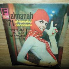 ALMANAH FLACARA ANUL 1971