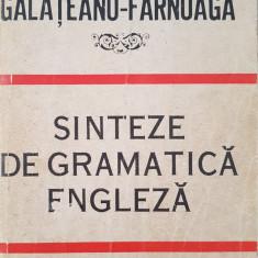 SINTEZE DE GRAMATICA ENGLEZA - Georgiana Galateanu-Farnoaga