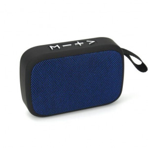 Boxa portabila Akai ABTS-MS89B cu BT, USB, TF card , Radio FM, Albastra