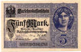 GERMANIA 1917 5 mark, 5 marci