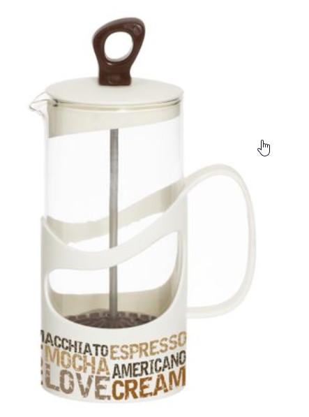 Infuzor din sticla, pentru ceai sau cafea, 660ml