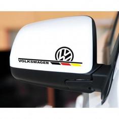 Sticker oglinda Volkswagen logo