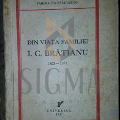 SABINA CANTACUZINO - DIN VIATA FAMILIEI I. C. BRATIANU, 1933
