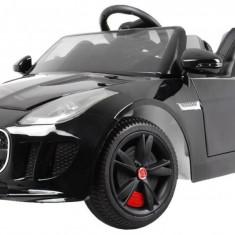 Masinuta electrica Jaguar F-Type, negru metalizat