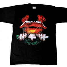 Tricou Metallica - Master of Puppets, L, M, S