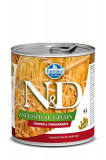 Cumpara ieftin Hrana umeda pentru caini N&D, Ancestral Grain, Pui si Rodie, 285 gr