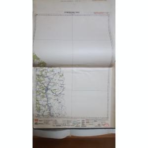 Harta Rezina Targ, Lalova, Glingeni, Mateuți, 1929