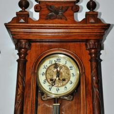 Ceas de perete cu pendula Friedrich Mauthe(1822 - 1884)