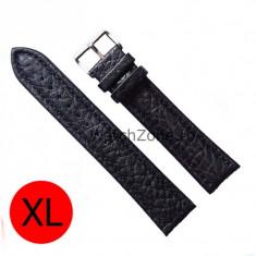 Curea de ceas neagra marimea XL 12mm 14mm 16mm 18mm WZ830