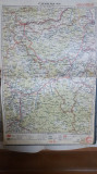Harta Alba Iulia, Deva, Sebeș, Hunedoara, Abrud, Hațeg, Munții Apuseni, 1927