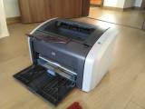Imprimanta laserjet HP 1010 cu toner original reincarcabil, 600 dpi, A4, 10-14 ppm