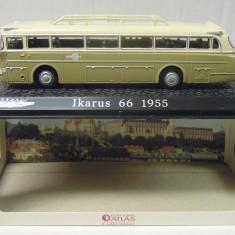 Macheta autobuz Ikarus 66 1955  - Atlas scara 1:72