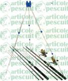 Kit Complet 3.9m Pescuit Feeder 2 Lansete 2 Mulinete 9 Rulm Si Tripod 4 Posturi