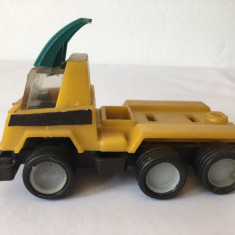 Masina masinuta Faur King Size ITIA, jucarie romaneasca 10 cm, anii 80