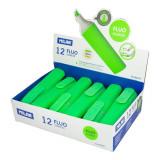 Cumpara ieftin Set 12 Markere Evidentiatoare Pastel Milan, Varf de 2-5 mm, Verzi, Marker Evidentiator, Markere, Marker Verde, Markere Verzi, Marker cu Vopsea Verde,