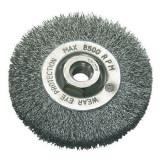 Perie sarma tip circular cu filet 115mm