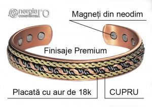 Brăţară Magnetică Energetică CUPRU - cod BRA061