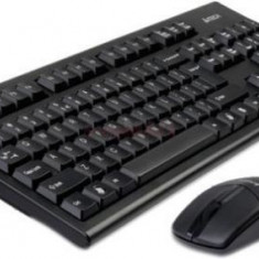 Kit Tastatura si Mouse A4Tech Wireless 3100N (Negru)
