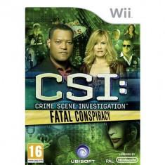 Csi Crime Scene Investigation Fatal Conspiracy Nintendo Wii