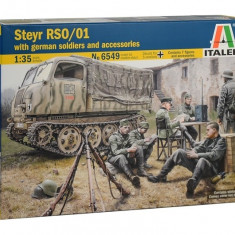 1:35 STEYR RSO/01 with GERMAN SOLDIERS - 7 figures 1:35