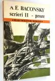 Scrieri II - proze A. E. Bakonsky