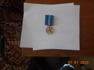 Ordinul Coroana Romaniei , Ofiter, la pace, model Carol 1. foto