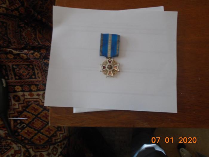 Ordinul Coroana Romaniei , Ofiter, la pace, model Carol 1.
