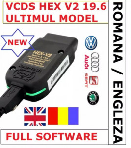 VCDS VAG COM 19.6.1 Romana-Engleza VW AUDI SKODA SEAT