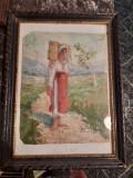pictura de ulei veche