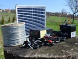 Pachet Gard electric 6,6J cu 1000m si Panou Solar cu Garanție 2 ani