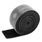 Organizator Cabluri Ugreen, Banda Velcro, Neagră, 5 Metri