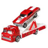 Cumpara ieftin Camion Hot Wheels Car Culture Ford C-800 cu masina Mercury Comet Cyclone 65