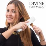 Perie Electrică pentru Îndreptarea Părului Divine Hair Magic