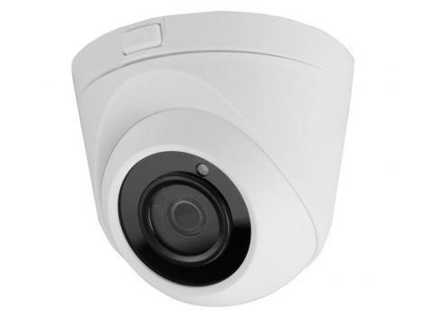 Camera dome de 8 Megapixeli, IR 20 M, lentila 2.8mm, carcasa metal, interior, SAF-ECO-DM8MP20F28
