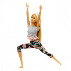 Papusa Barbie, miscari multiple, multicolor