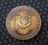 Medalie Academia de stiinte agricole si silvice - Ghe. Ionescu - Sisesti