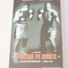 Caseta video VHS originala film tradus Ro - O Bataie pe Cinste
