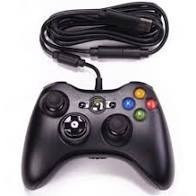 Controller cu fir compatibil XBOX 360 sau PC, cablu flexibil foto