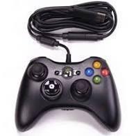 Controller cu fir compatibil XBOX 360 sau PC, cablu flexibil