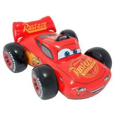 Saltea gonflabila masinuta Fulger McQueen Cars