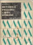 Metodica predarii limbii romane (citit, scris) - Ion Berca
