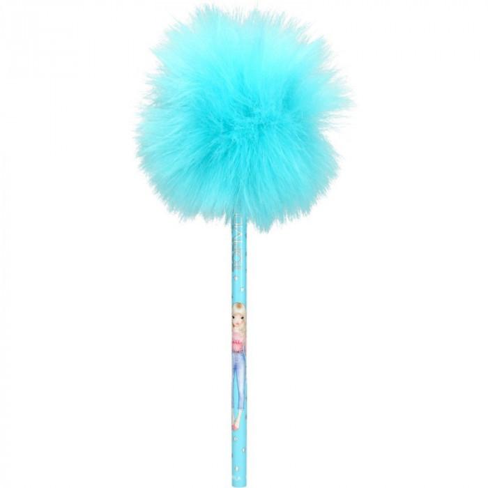Creion cu PomPom Top Model Depesche, bleu